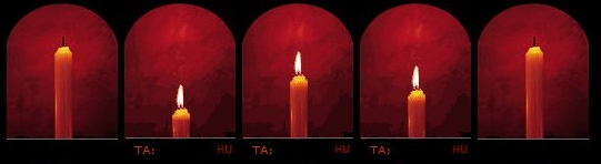 candles tribute page