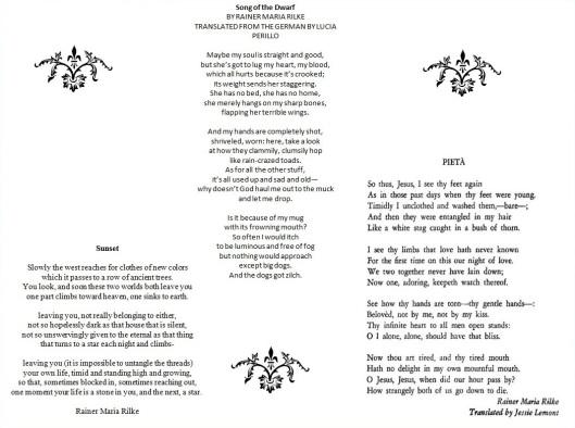 rilke poems